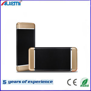 Ultrathin Card Type Polymer Mobile Phone Power Bank with Cable