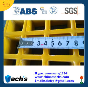 Fiberglass Grating /GRP Grating /FRP Grating / Gfrp Grating Passed ABS ISO9001 2015 pictures & photos