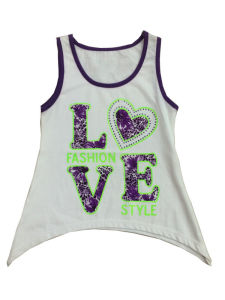 Fashion Kids Girl Vest in Children Clothes (SV-014) pictures & photos