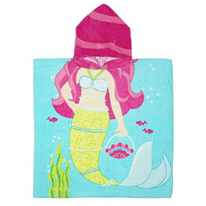 Animal Design Competitive Printed Beach Poncho Bath Poncho pictures & photos