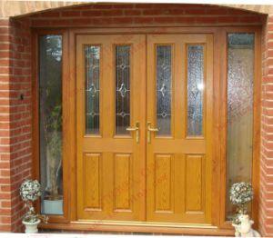 High Quality European Standard UPVC Hinge Door (BHP-CD46) pictures & photos
