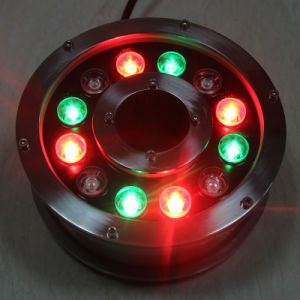 27W DMX Control High Quality RGB Ring Fountain Light pictures & photos