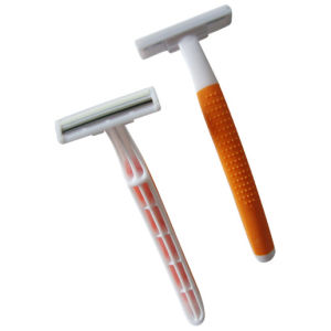 Twin Blade Disposable Razor (KD-2012L) pictures & photos