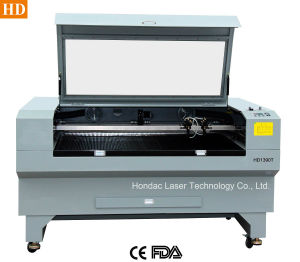 Twin Head Laser Cutter for Garments/ Shoes (1390 T)