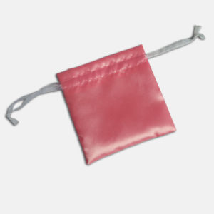 High Quality Satin Double-Sided Drawstring Pouch for Gift Jewelry pictures & photos