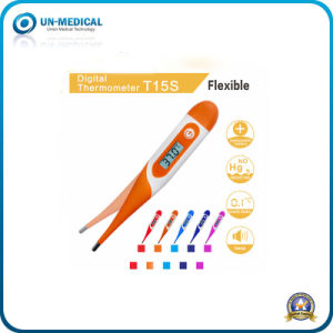 Soft Head Digital Thermometer (UN-15S) pictures & photos