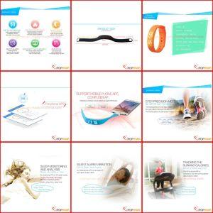 Calorie Pedometer, Bluetooth Bracelet Pedometer pictures & photos
