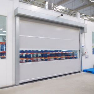 PVC High Speed Shutter Door Automatic Door (HF-J199) pictures & photos