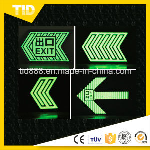 Glow in The Dark Photoluminescent Film for Safety Sign pictures & photos