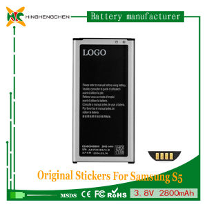 New High Capacity Replacement Li-ion Battery for Samsung S5 I9600 Battery pictures & photos