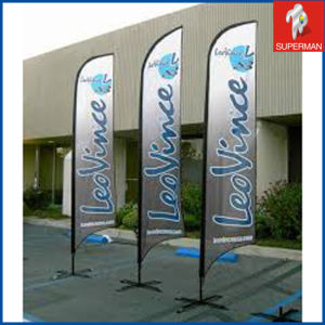 5.5m Promotional Customized Feather Polyester Flag (SM050091)