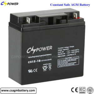Deep Cycle SLA Lead Acid Battery 12V 18ah pictures & photos