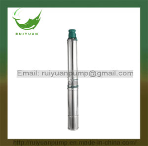 "4"" CE Approved High Quality Electric Pomba Cast Iron 100qjd Deep Well Submersible Pump pictures & photos"