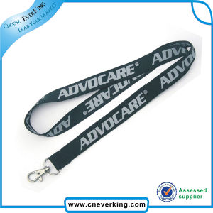 Custom Woven High Quality Thick Neck Lanyard pictures & photos