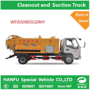Cleanout and Sewage Suction Truck