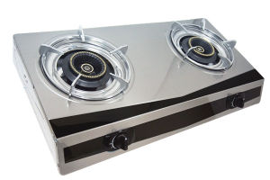 High Quality Sell in Bangladesh 2 Burner Ss Gas Cooker Jp-Gc200 pictures & photos