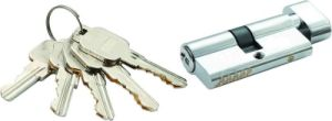 High Security Double Pins Groove Key Cylinder (C3360-151 CP-291 CP) pictures & photos