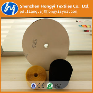 Customized Manufacture Non Brushed Loop Velcro Harmless Tape to Hand pictures & photos