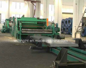 Algeria Steel Tile Plate Metal Cutting Machine pictures & photos