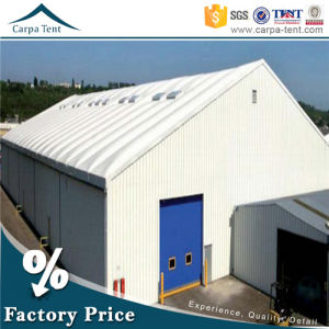 Guangzhou Tent Wholesale Waterproof Fabric Warehouse Canopy with Sandwich Wall pictures & photos