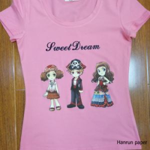 High Quality PU Coating Layer, Easy Cutting Dark T-Shirt Heat Transfer Paper for 100% Cotton Fabric pictures & photos