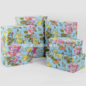 Wholesale Customized Flower Printing Paper Gift Packaging Boxes pictures & photos