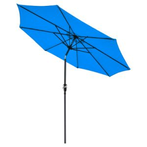 9FT (2.7m) Crank Umbrella with Tilt Patio Umbrella Garden Umbrella pictures & photos