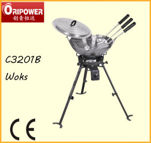 Dia. 46cm Wok Kit (C3201B) pictures & photos