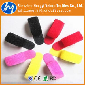 Nylon Grey Soft-Hook & Loop Cable Tie pictures & photos