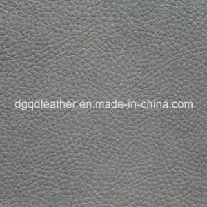 High Scratch Resistant Sofa PU Leather Qdl-50214 pictures & photos