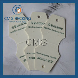 White PVC Necklace Packaging Card (CMG-051) pictures & photos