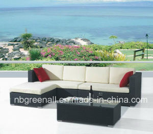 Latest Elegant Patio Rattan Chat Group Furniture pictures & photos