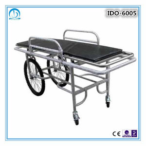 Ido-6005 Stainless Steel Patient Stretcher Trolley pictures & photos