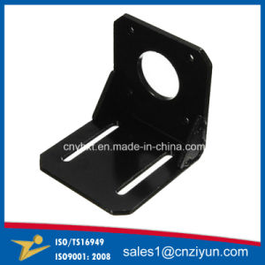 L Shape Alloy Steel Mounting Bracket of Punching Service pictures & photos
