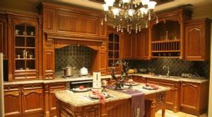 Hard Maple Solid Wood Kitchen Cabinet pictures & photos