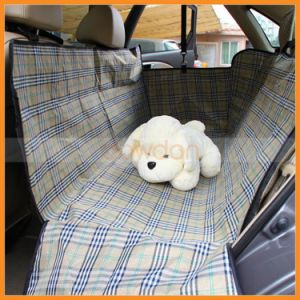 Stripe Hammock Style Waterproof Pet Seat Cover for Car pictures & photos