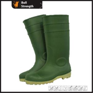 Colorful PVC Safety Rain Boots with Steel Toe Cap (SN1654) pictures & photos