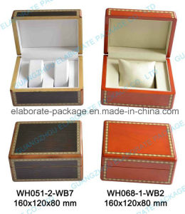 Grain Jewellry Case Wooden Watch Box with Low Price pictures & photos