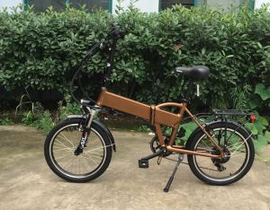 36V 250W Electric Folding Bike pictures & photos