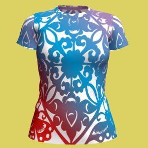 Good Quality/Custom T-Shirt, Full Sublimation Printing Crewneck T-Shirt, Heat-Transfer Printing T-Shirtfor, Men&Womens, Unisex pictures & photos