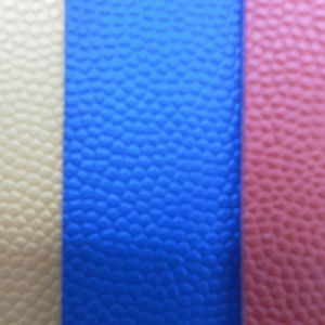 Nantong Factory PVC Ball Leather pictures & photos
