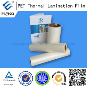 Pet Glossy Roll Laminating Film with Bonding Strength for Credit Cards, Business Licenses pictures & photos
