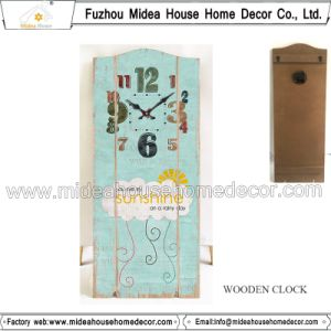 Factory Direct Price Wood Promotional Clock Themes pictures & photos