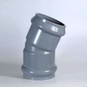 UPVC 22.5 Degree Elbow (F/F) Pipe Fitting Anti-Corrosion pictures & photos