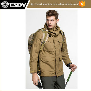 Esdy Jackets Men Outdoor Tactical Windbreaker Jacket Combat Windbreaker pictures & photos