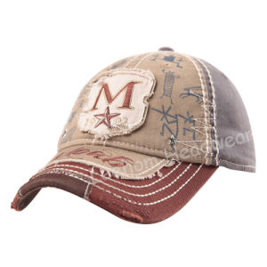 Custom Sports Golf Washed Fashion Baseball Cap pictures & photos