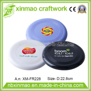22.8cm Plastic Frisbee with Full Color Logo for Promo pictures & photos