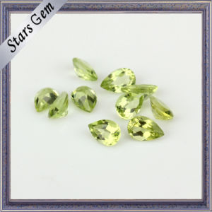 Natural Semi Precious Peridot Gemstone for Jewelry pictures & photos