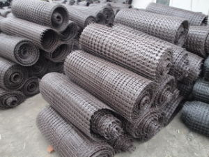 High Tensile Strength Fiberglass Geogrid pictures & photos