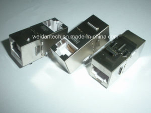 CAT6A FTP Coupler, 90 Degree pictures & photos
